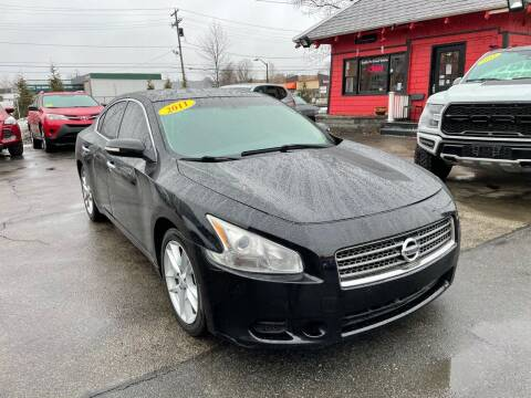 2011 Nissan Maxima for sale at Mass Auto Exchange in Framingham MA
