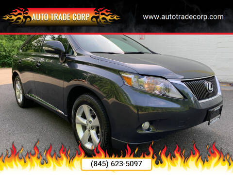 2011 Lexus RX 350 for sale at AUTO TRADE CORP in Nanuet NY