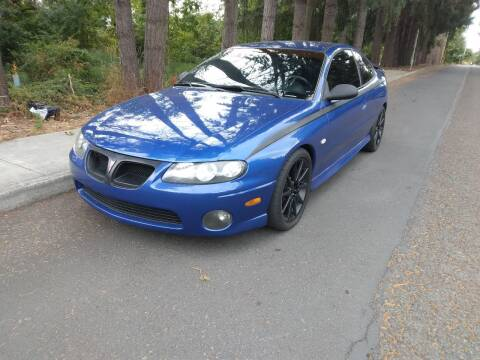 2004 Pontiac GTO for sale at PDX Car People LLC in Milwaukie OR
