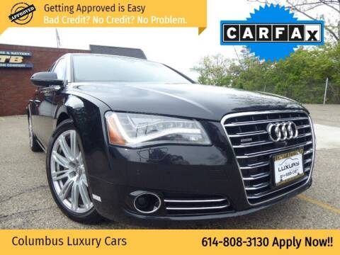 2014 Audi A8 for sale at Columbus Luxury Cars in Columbus OH