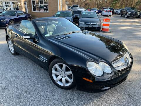 2003 Mercedes-Benz SL-Class for sale at Philip Motors Inc in Snellville GA