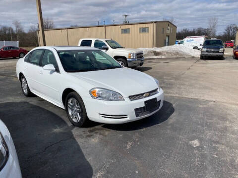 2013 Chevrolet Impala for sale at Bruce Kunesh Auto Sales Inc in Defiance OH