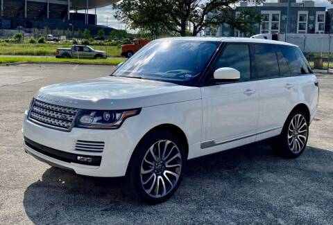 2016 Land Rover Range Rover for sale at EA Motorgroup in Austin TX
