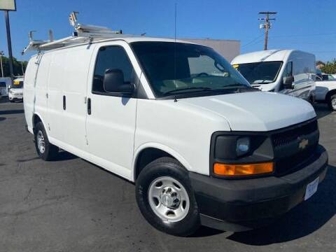 2017 Chevrolet Express Cargo for sale at Auto Wholesale Company in Santa Ana CA