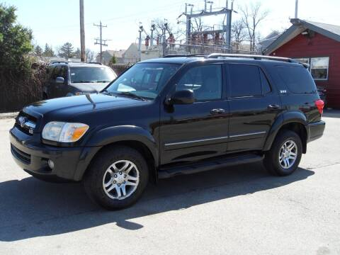 2005 Toyota Sequoia for sale at GLOBAL AUTOMOTIVE in Gages Lake IL
