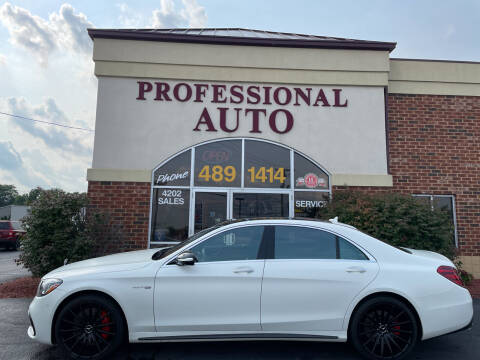2018 Mercedes-Benz S-Class for sale at Professional Auto Sales & Service in Fort Wayne IN