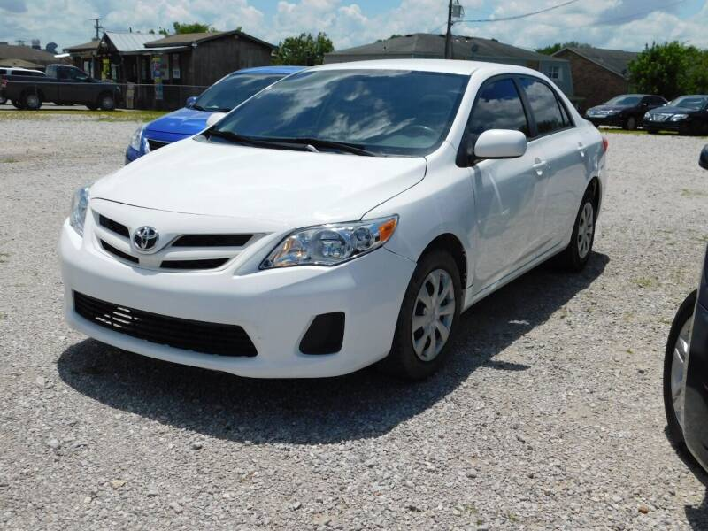 2011 Toyota Corolla for sale at National Advance Auto Sales in Florence AL