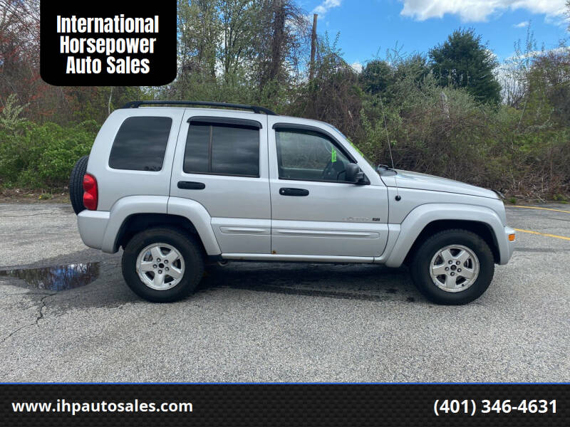 2002 Jeep Liberty for sale at International Horsepower Auto Sales in Warwick RI