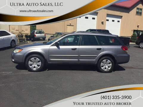 2009 Subaru Outback for sale at Ultra Auto Sales, LLC in Cumberland RI