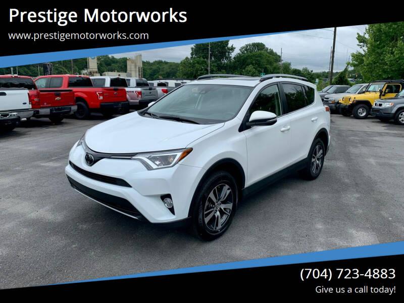 2018 Toyota RAV4 for sale at Prestige Motorworks in Concord NC