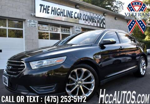 2013 Ford Taurus for sale at The Highline Car Connection in Waterbury CT