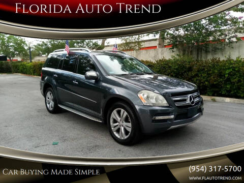 2010 Mercedes-Benz GL-Class for sale at Florida Auto Trend in Plantation FL
