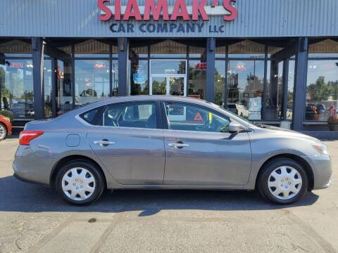 2017 Nissan Sentra for sale at Siamak's Car Company llc in Salem OR