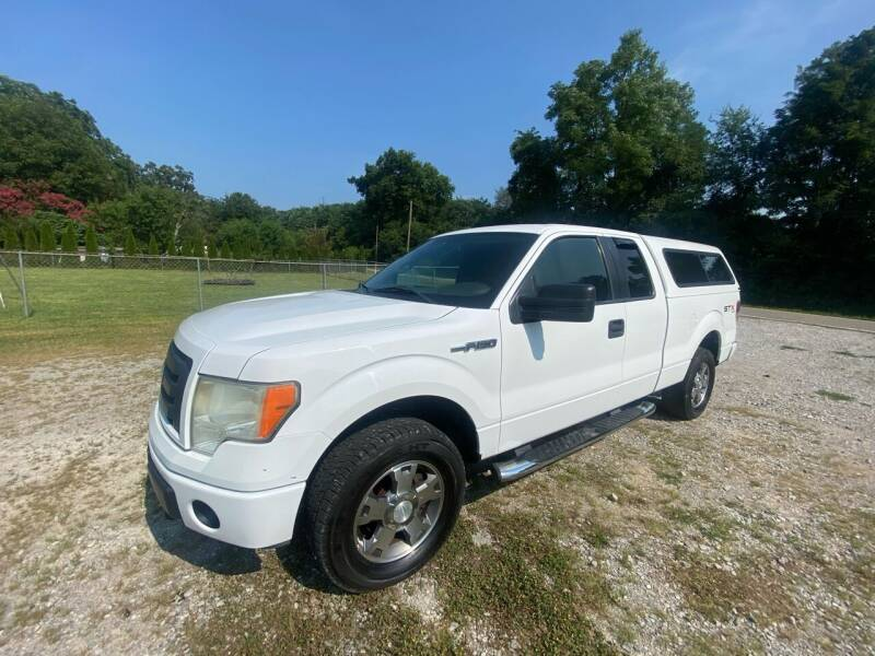 2009 Ford F-150 for sale at Tennessee Valley Wholesale Autos LLC in Huntsville AL