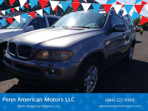 2005 BMW X5 for sale at Penn American Motors LLC in Allentown PA