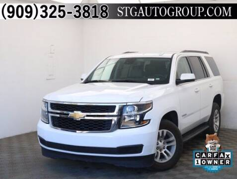2020 Chevrolet Tahoe for sale at STG Auto Group in Montclair CA