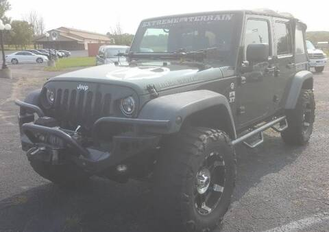2010 Jeep Wrangler Unlimited for sale at Green Valley Sales & Leasing in Jordan MN