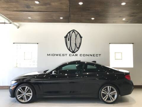 2016 BMW 4 Series for sale at Midwest Car Connect in Villa Park IL