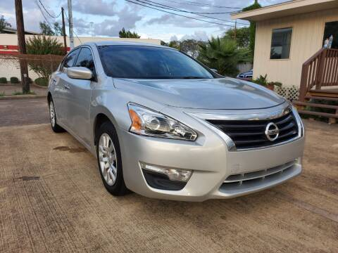 2015 Nissan Altima for sale at Zora Motors in Houston TX