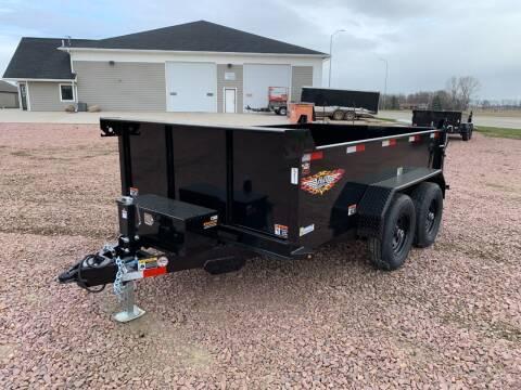 2021 H&H UDB 76x10 Dump Box #8677 for sale at Prairie Wind Trailers, LLC in Harrisburg SD