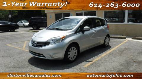 2014 Nissan Versa Note for sale at Clintonville Car Sales - AutoMart of Ohio in Columbus OH