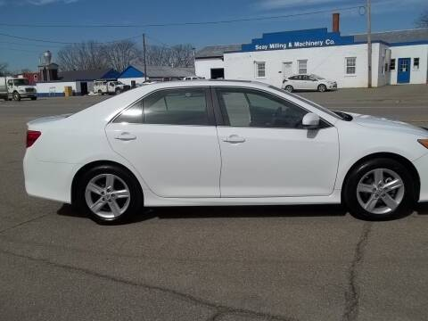 2012 Toyota Camry for sale at Gilliam Motors Inc in Dillwyn VA