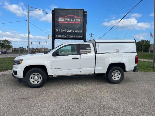 2017 Chevrolet Colorado for sale at SIRIUS MOTORS INC in Monroe OH