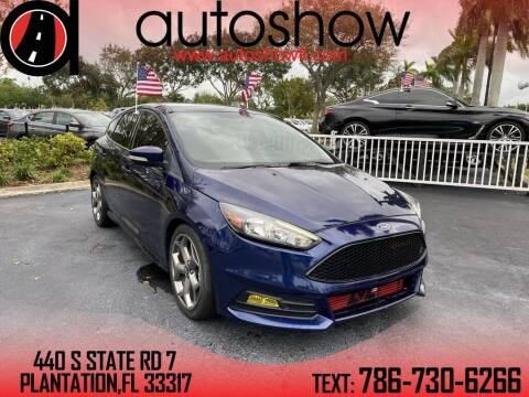 2016 Ford Focus for sale at AUTOSHOW SALES & SERVICE in Plantation FL