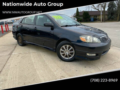 2005 Toyota Corolla for sale at Nationwide Auto Group in Melrose Park IL