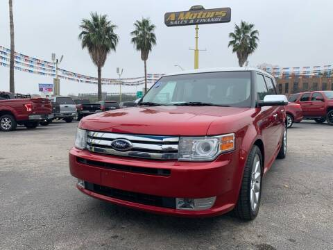 2010 Ford Flex for sale at A MOTORS SALES AND FINANCE - 5630 San Pedro Ave in San Antonio TX