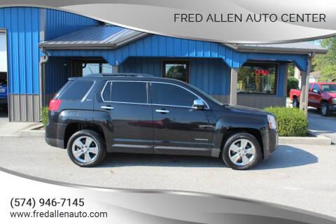 2014 GMC Terrain for sale at Fred Allen Auto Center in Winamac IN