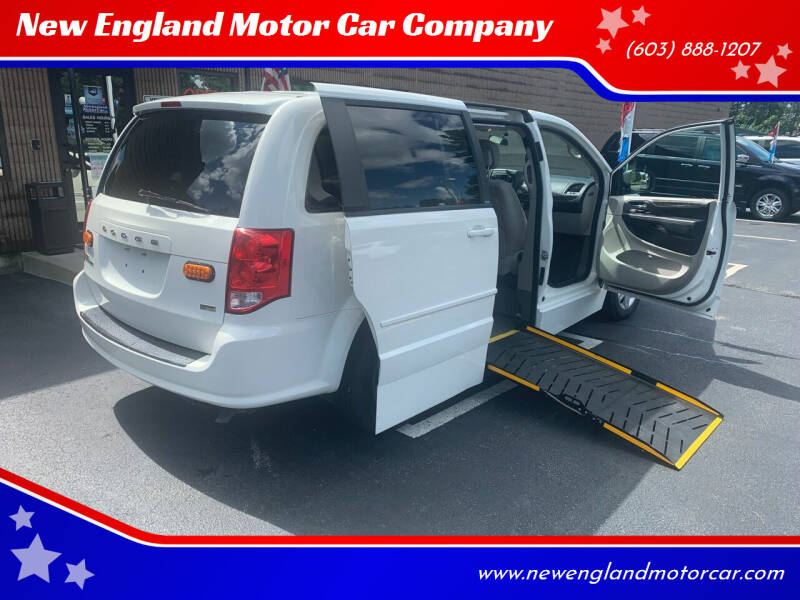 2011 Dodge Grand Caravan for sale at New England Motor Car Company in Hudson NH