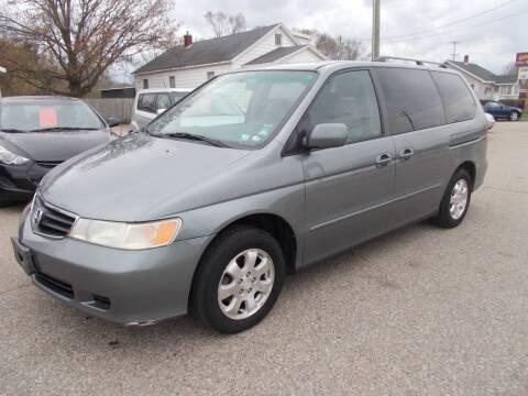 2002 Honda Odyssey for sale at Jenison Auto Sales in Jenison MI