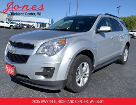 2011 Chevrolet Equinox for sale at Jones Chevrolet Buick Cadillac in Richland Center WI