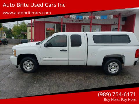 2011 Chevrolet Silverado 1500 for sale at Auto Brite Used Cars Inc in Saginaw MI