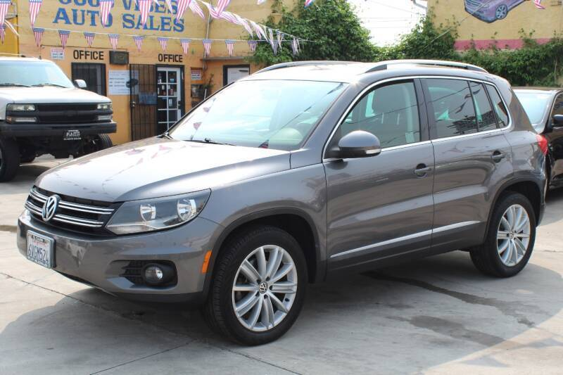 2012 Volkswagen Tiguan for sale at Good Vibes Auto Sales in North Hollywood CA