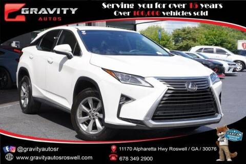 2019 Lexus RX 350 for sale at Gravity Autos Roswell in Roswell GA