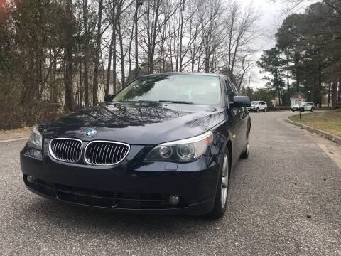 2007 BMW 5 Series for sale at Coastal Automotive in Virginia Beach VA
