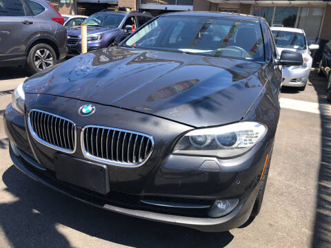 2012 BMW 5 Series for sale at Ultra Auto Enterprise in Brooklyn NY