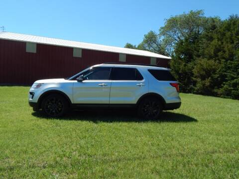 2018 Ford Explorer for sale at Wheels Unlimited in Smith Center KS