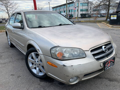 2003 Nissan Maxima for sale at JerseyMotorsInc.com in Teterboro NJ