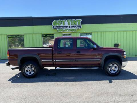 2002 Chevrolet Silverado 2500HD for sale at GOT TINT AUTOMOTIVE SUPERSTORE in Fort Wayne IN