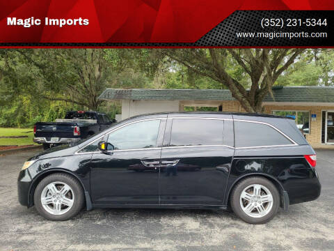 2012 Honda Odyssey for sale at Magic Imports in Melrose FL