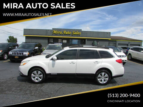2010 Subaru Outback for sale at MIRA AUTO SALES in Cincinnati OH