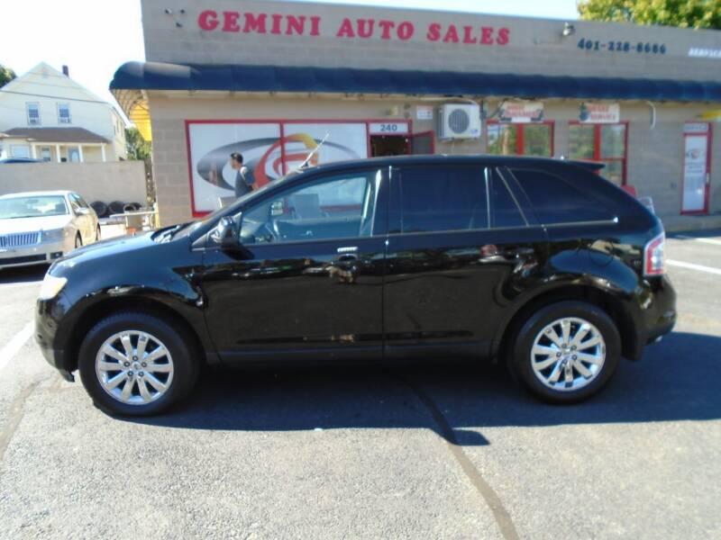 2007 Ford Edge for sale at Gemini Auto Sales in Providence RI