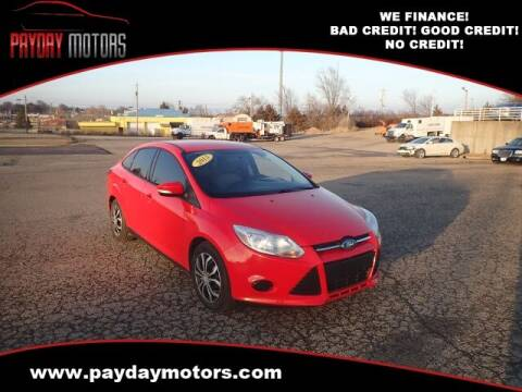 2013 Ford Focus for sale at Payday Motors in Wichita And Topeka KS