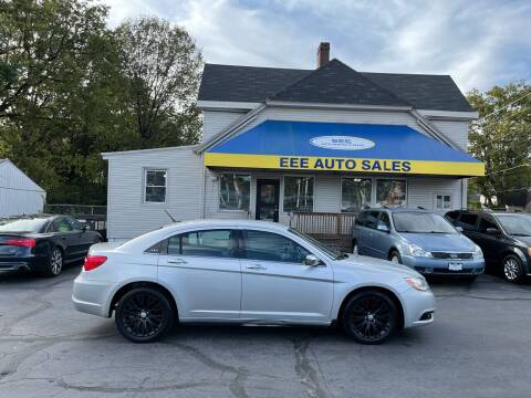 2012 Chrysler 200 for sale at EEE AUTO SERVICES AND SALES LLC in Cincinnati OH