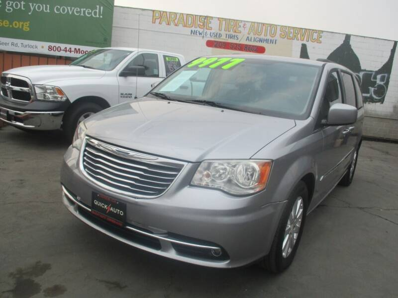 2014 Chrysler Town and Country for sale at Quick Auto Sales in Modesto CA