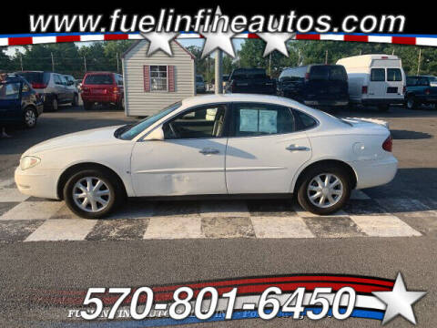 2006 Buick LaCrosse for sale at FUELIN FINE AUTO SALES INC in Saylorsburg PA