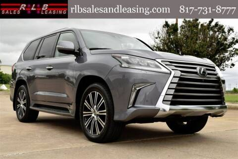 2018 Lexus LX 570 for sale at RLB Sales and Leasing in Fort Worth TX